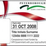 Concessionary Bus Pass For Travel