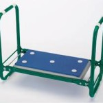 Folding seat and kneeler