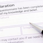 Completing forms properly