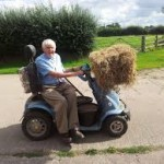 80 year old Shropshire farmer continues to run his farm
