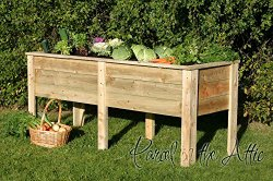 Raised garden bed planter