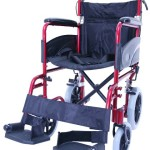 Z-TEC – Aluminium Lightweight Folding Transit Wheelchair