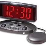 Wake 'n' shake alarm clock
