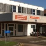 Emergency visit to Stoke Mandeville