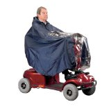 Mobility scooter waterproof cape