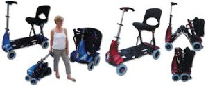 The Luggie mobility scooter