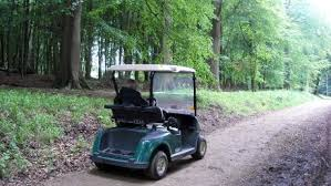 A mobility scooter hired from Ashridge Estate