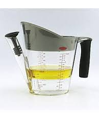 OXO Good Grips fat separator, now poor of the juice without the fat