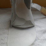 My orthosis, 10 weeks later