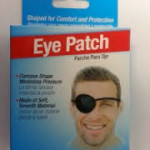 I Wear an Eye Patch Because I have Double Vision