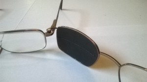 Glasses for double vision,