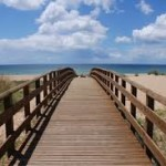 The boardwalks near Lagos