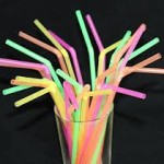 One Way Flextendable Drinking Straws