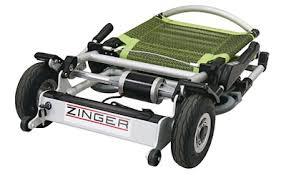 Zinger battery powered lightweight wheelchair