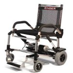 Zinger battery powered lightweight wheelchair