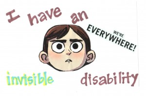 An invisible physical disability