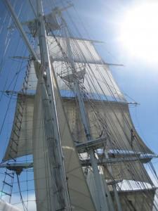 I had a wonderful sailing holiday