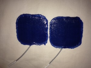 Sticky electrodes and my FES