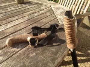 Broken Leki stick, another fall/1