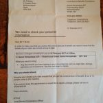 Department for Work and Pensions invite me to a meeting