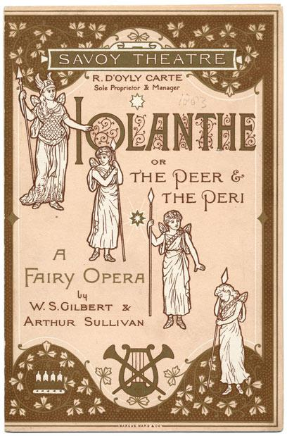 Disabled man sees Iolanthe at the Coliseum
